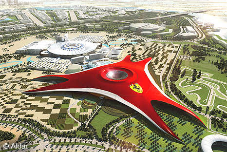 Semmler manufactured and delivered 1600m of Semmler Expansion Band to Abu Dhabi for the remarkable construction of Ferrari World theme park.