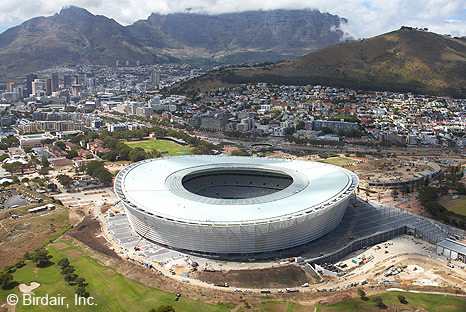 Expansion Band SD90 has been developed by Semmler especially to suit to the unusual construction of the Green Point Stadium in Cape Town.